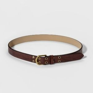 Womens Jean Grommet Belt Universal Thread L
